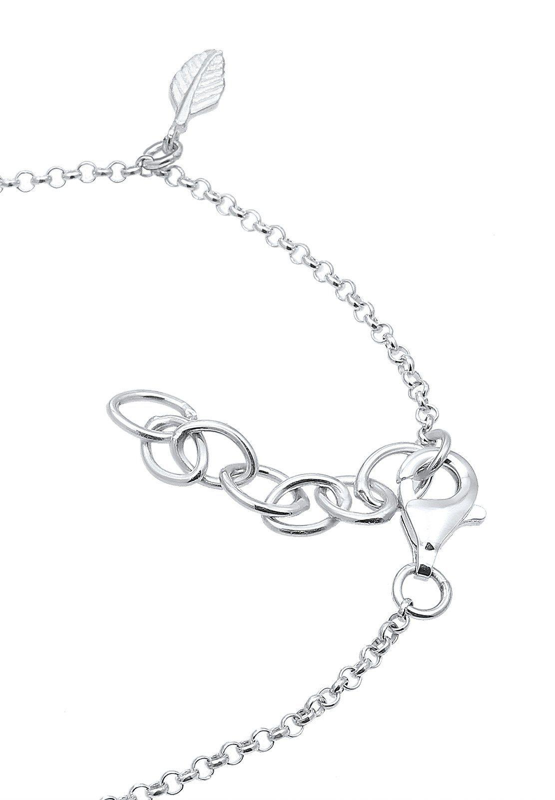 Silber« 925 Feder Fußkette Sterling »boho Elli Y6yfg7b