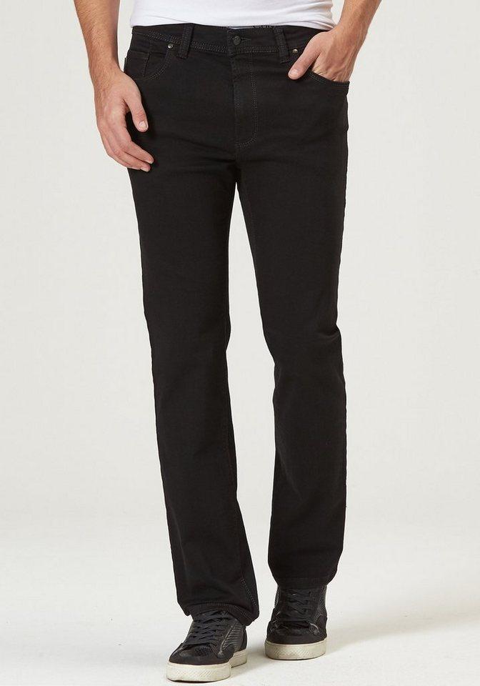 Herren Pionier Jeans & Casuals Hose Denim Herren THOMAS Regular Fit schwarz   04025444304275