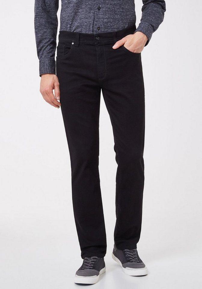 Herren Pionier Jeans & Casuals Konvex Hose Denim Herren THOMAS Regular Fit schwarz   04025444304640