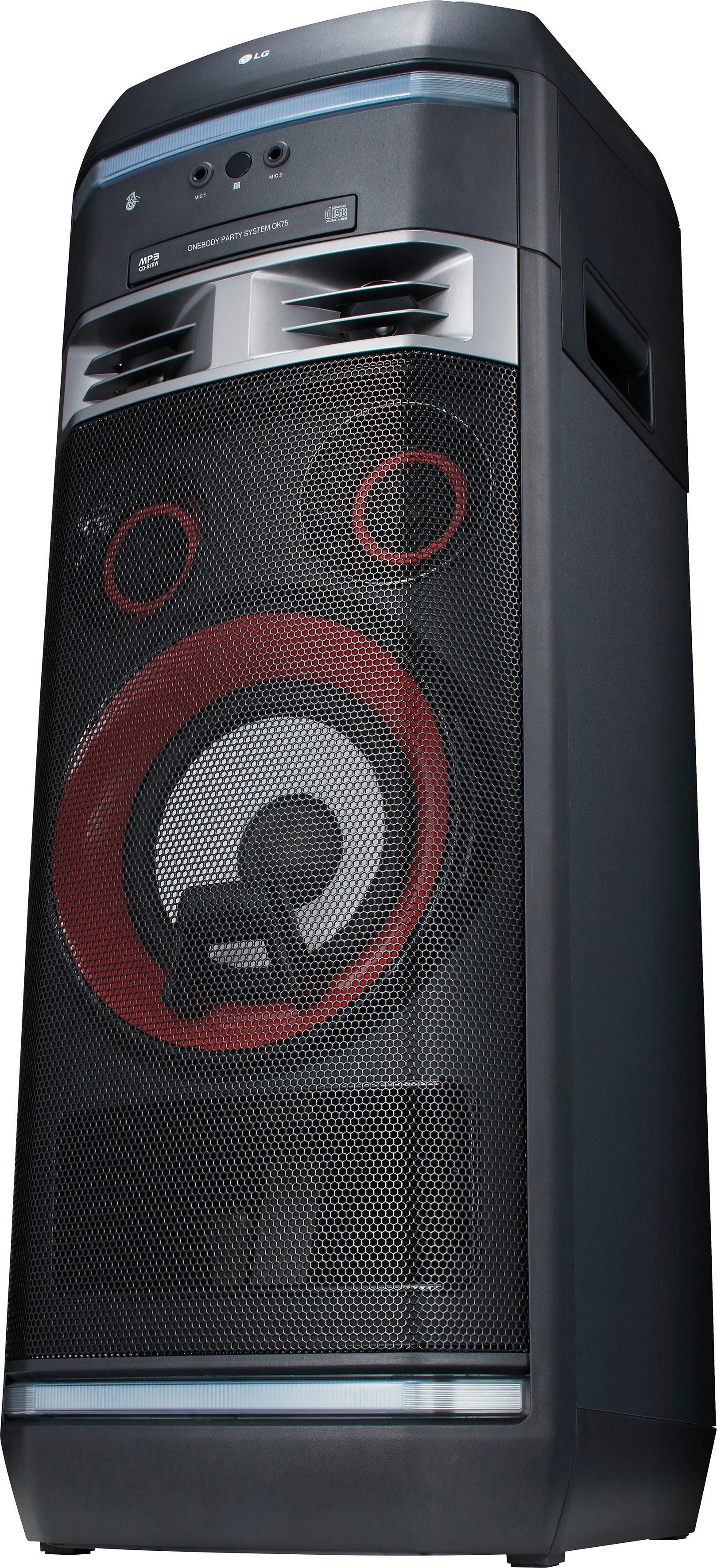 LG »OK75« Stereoanlage (Bluetooth, FM-Tuner, 1000 W)