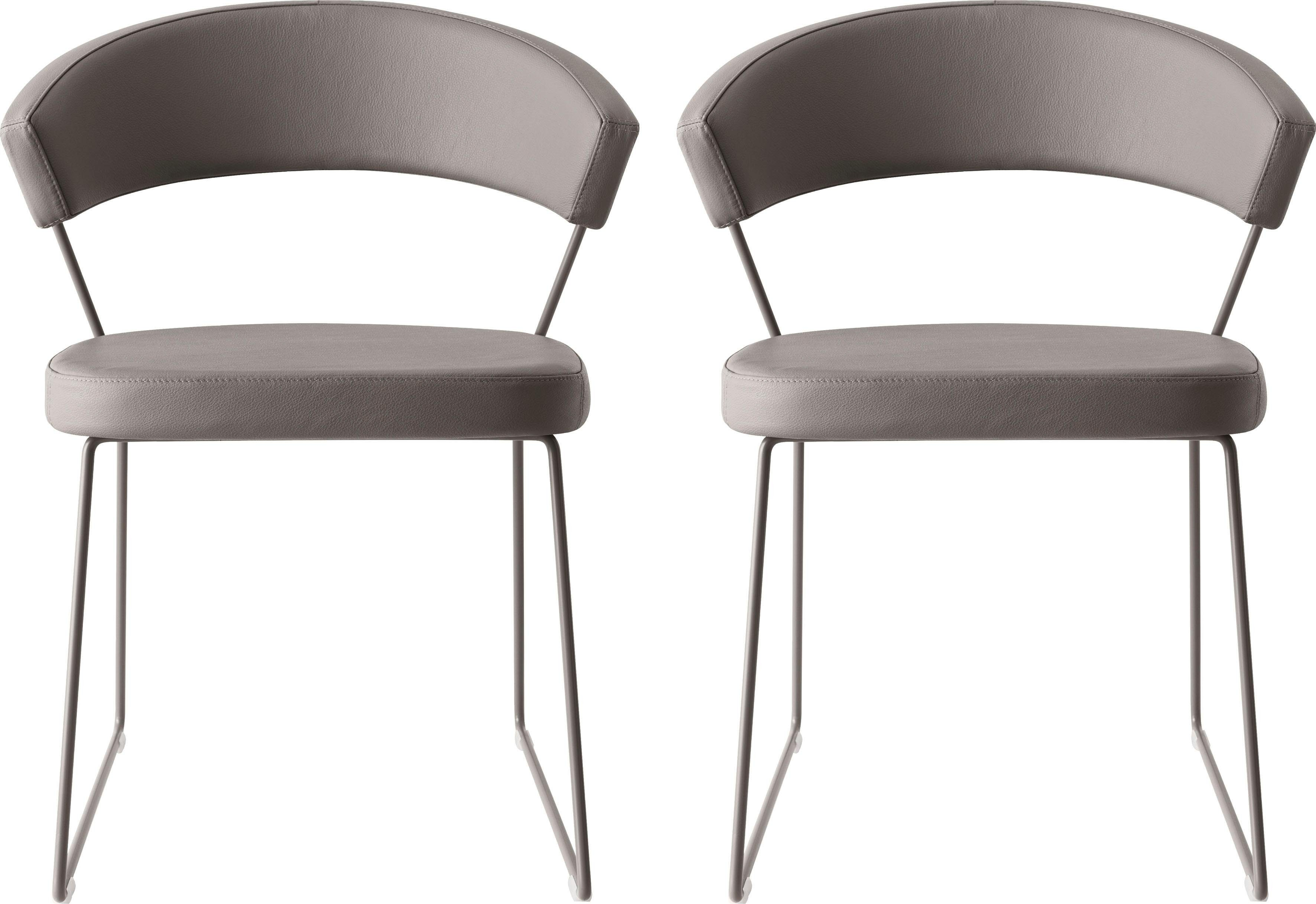 connubia by calligaris Stühle »New York CB1022-LH«, 2 Stck.