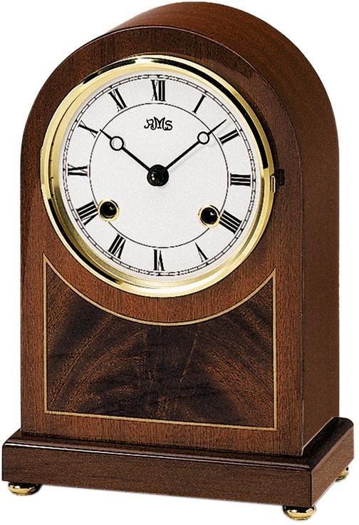 AMS Tischuhr »T154/8« | Dekoration > Uhren > Standuhren | Weiß | AMS