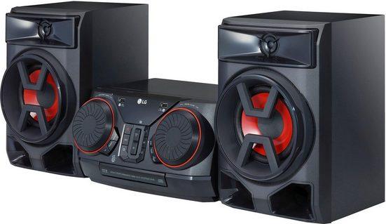 LG »CK43« Stereoanlage (FM-Tuner mit RDS, 300 W, Bluetooth, TV Sound Sync Bluetooth (LG TV)