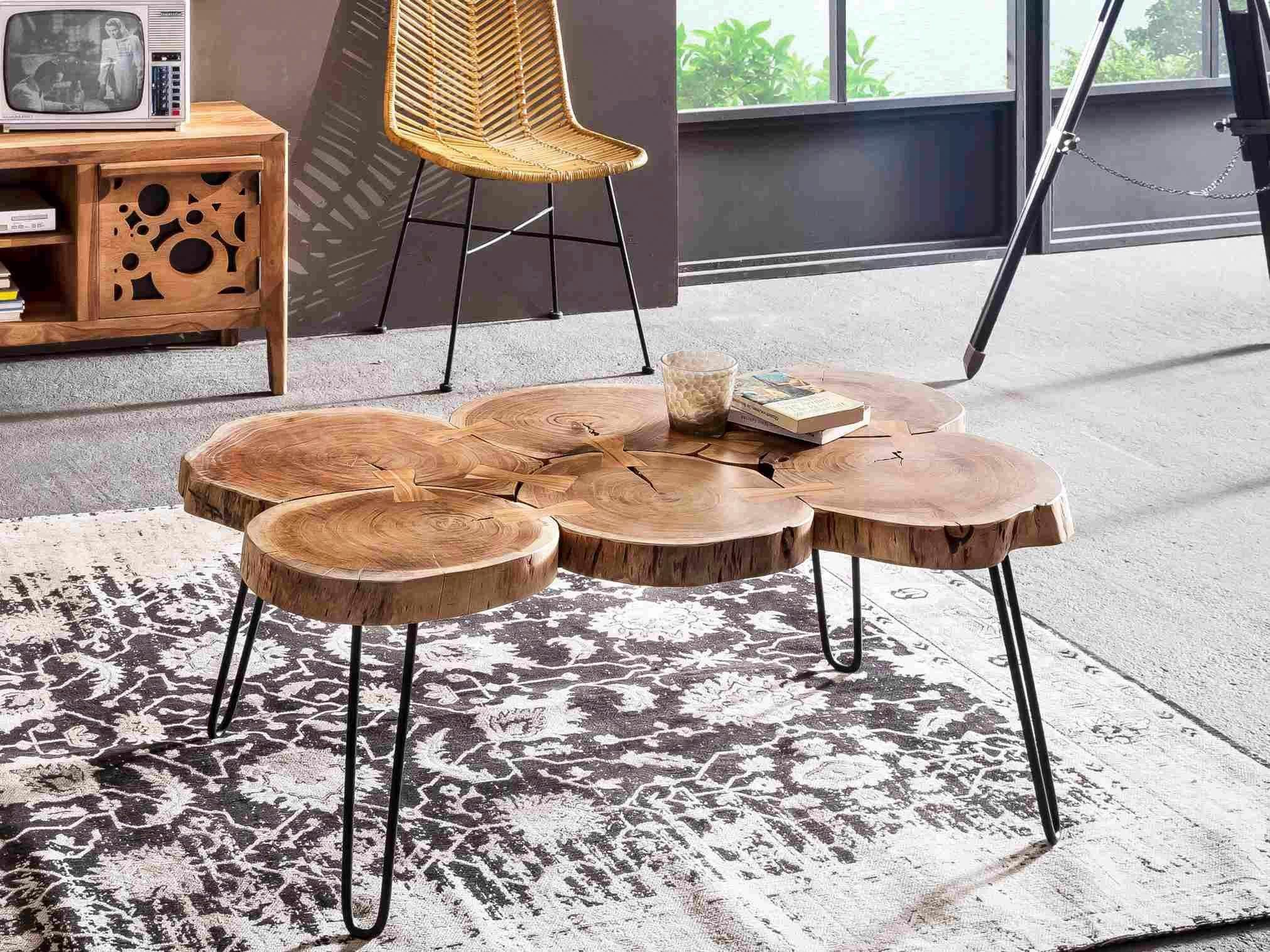 SIT Couchtisch »This&That« recyceltes Akazienholz