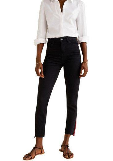 MANGO Ankle-Jeans »REDLINE«