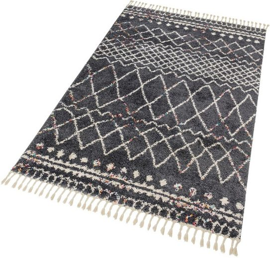 Hochflor-Teppich »Urban 182«, SCHÖNER WOHNEN-Kollektion, rechteckig, Höhe 30 mm, Besonders weich durch Microfaser