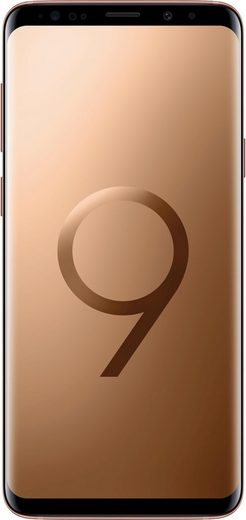 Samsung Galaxy S9+ Dual SIM Smartphone (15,8 cm/6,22 Zoll, 64 GB Speicherplatz)