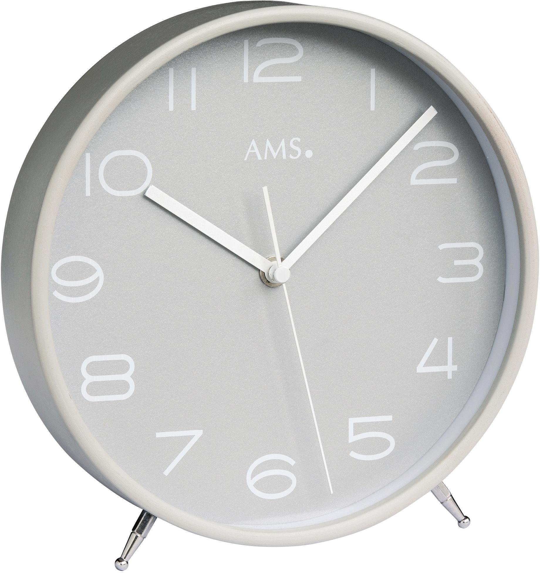 AMS Funktischuhr »F5119« | Dekoration > Uhren > Standuhren | Holz | AMS