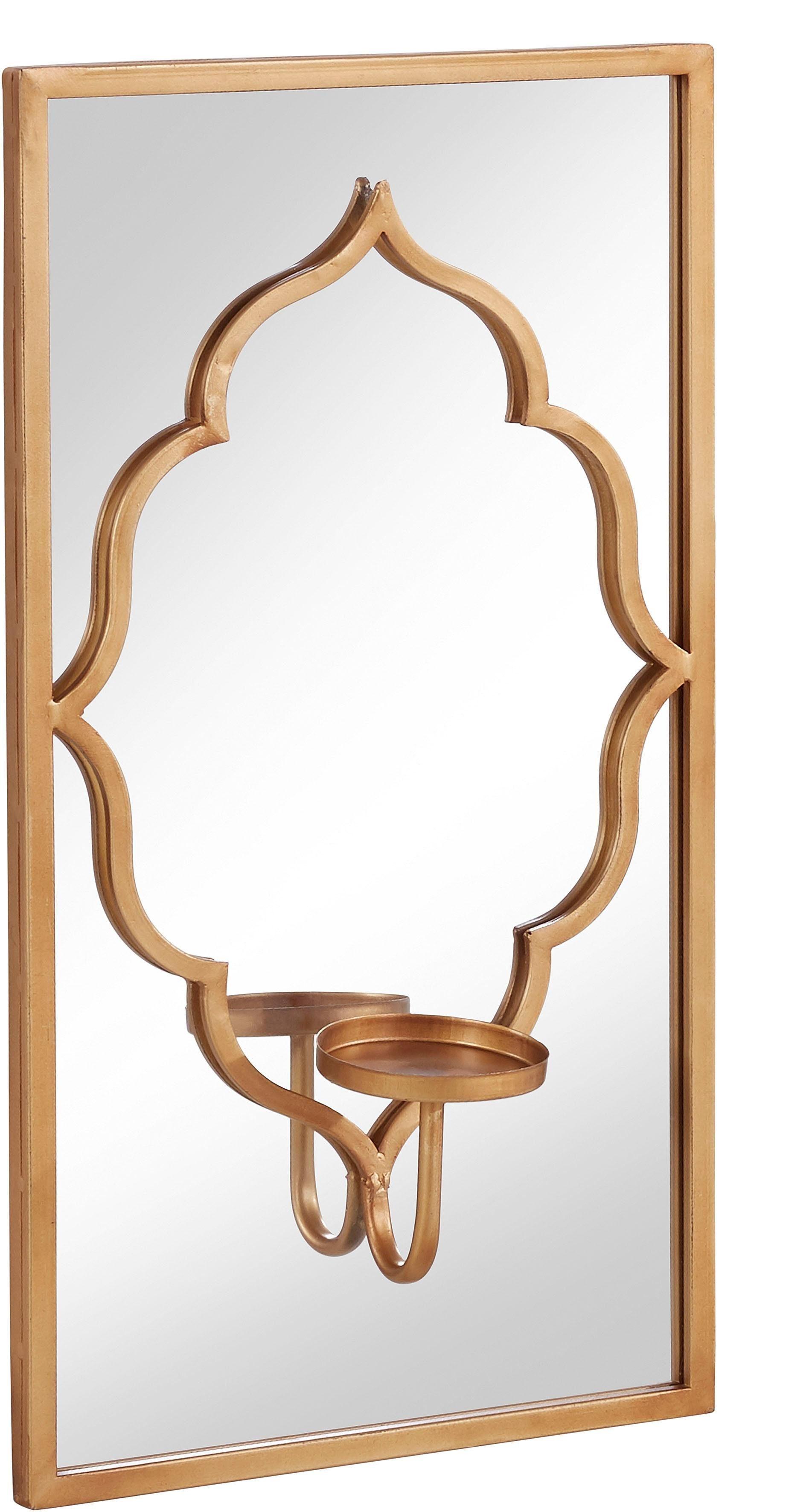 Leonique Wandkerzenhalter »Orient« mit Spiegel