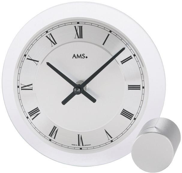 AMS Tischuhr »T166« | Dekoration > Uhren > Standuhren | Glas | AMS