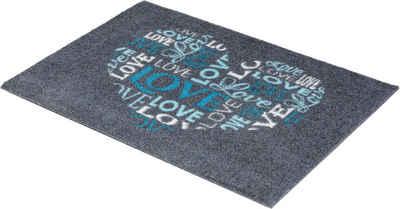 Fußmatte »Felicido 802«, ASTRA, rechteckig, Höhe 6 mm, Schmutzfangmatte, mit Spruch