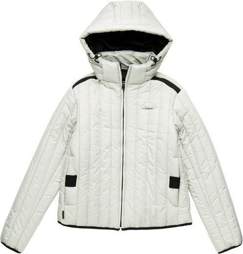 G-Star RAW Steppjacke »Meefic vertical quilted jacket« tylische Damen Winterjacke mit Kapuze