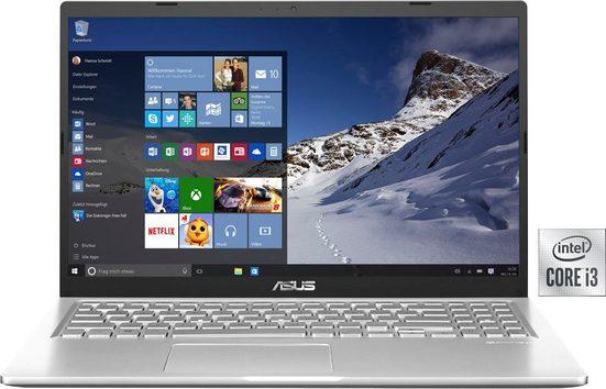 Asus F515JA-EJ721T Notebook (39,6 cm/15,6 Zoll, Intel Core i3, UHD Graphics, 512 GB SSD, Kostenloses Upgrade auf Windows 11, sobald verfügbar)
