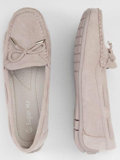 Apart »aus Veloursleder-Imitat« Loafer