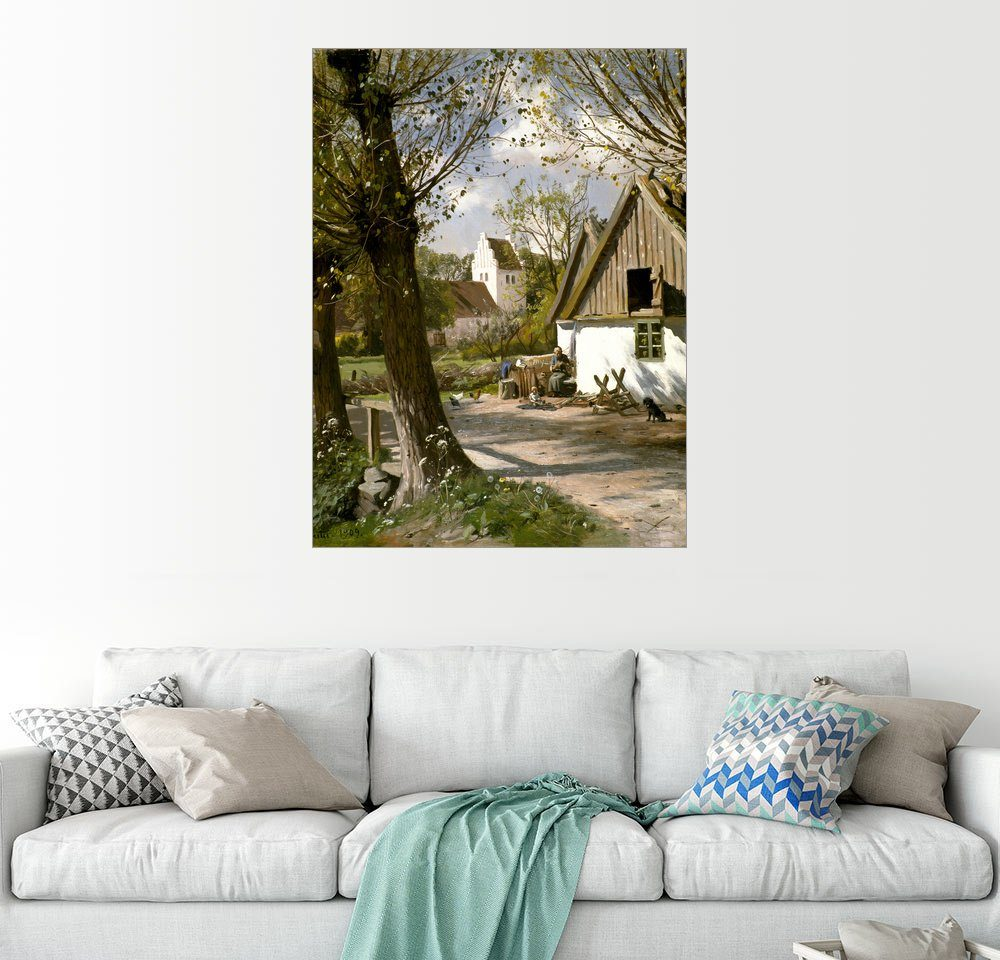 Posterlounge Wandbild - Peder Mork Mönsted »Sommer auf dem Lande«