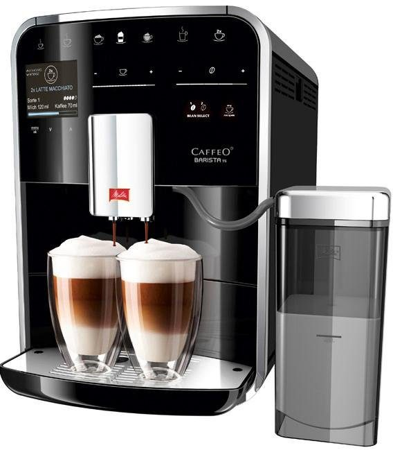 Melitta Kaffeevollautomat Melitta®CAFFEO Barista TS Smart® F85/0-102, schwarz