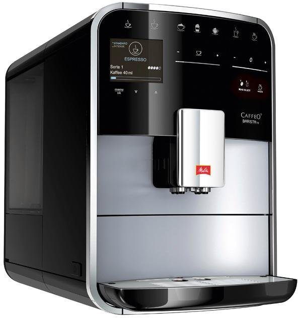 melitta kaffeevollautomat melitta caffeo barista ts smart f85 0 101 silber schwarz online. Black Bedroom Furniture Sets. Home Design Ideas
