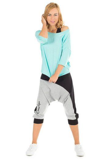 Dancehose Winshape Dance style »wbe10« schwarz Grau IvYf7by6g