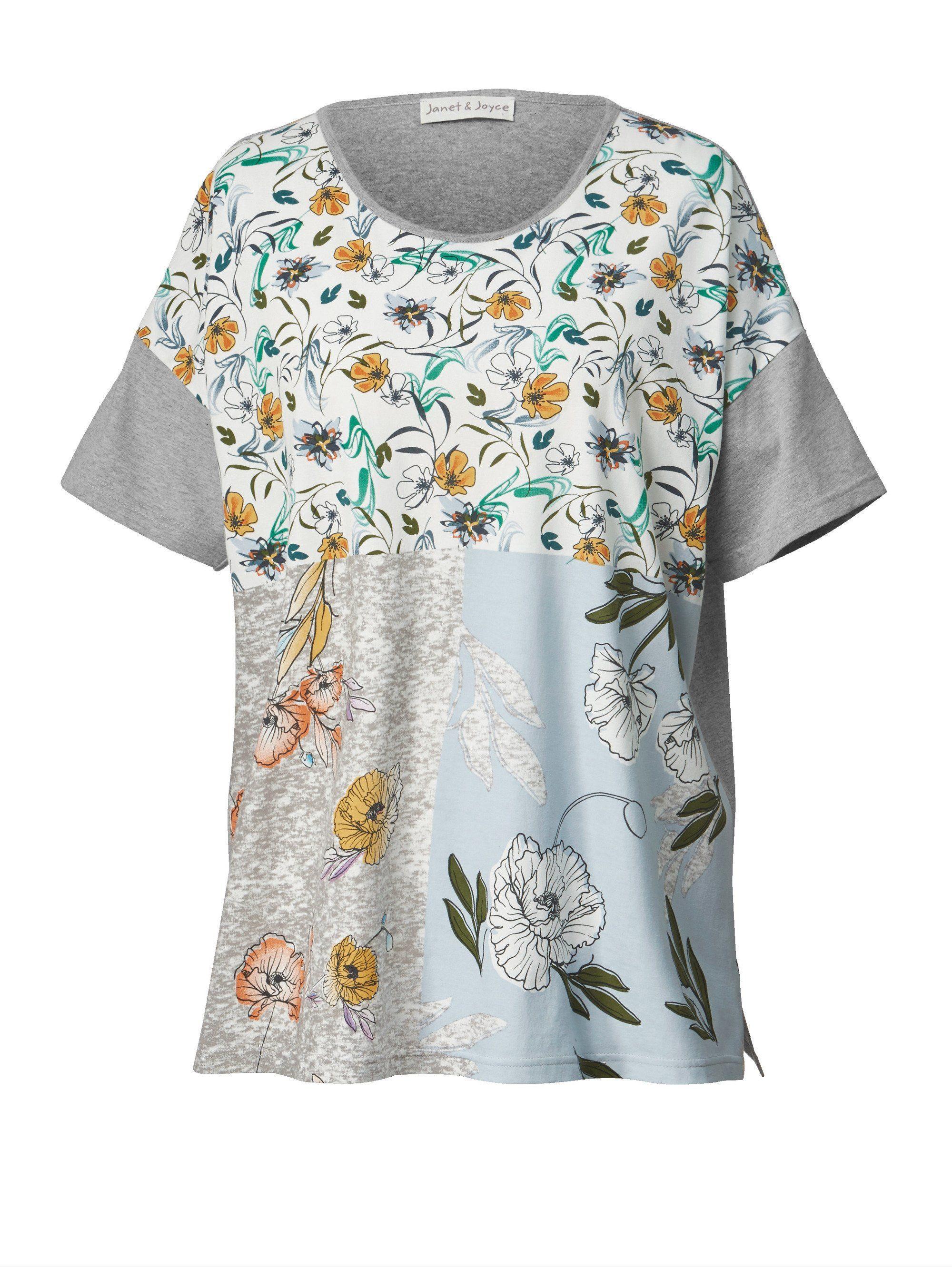 Kaufen Shirt Janet Und Blumen Mit print Size Happy Joyce By Online 8wknOXN0P