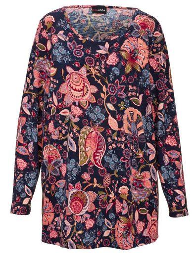 MIAMODA Shirt mit floralem Druck