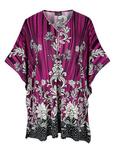 MIAMODA Shirt in weit schwingender Tunika-Form