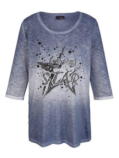 MIAMODA Shirt aus schöner melierter Ware