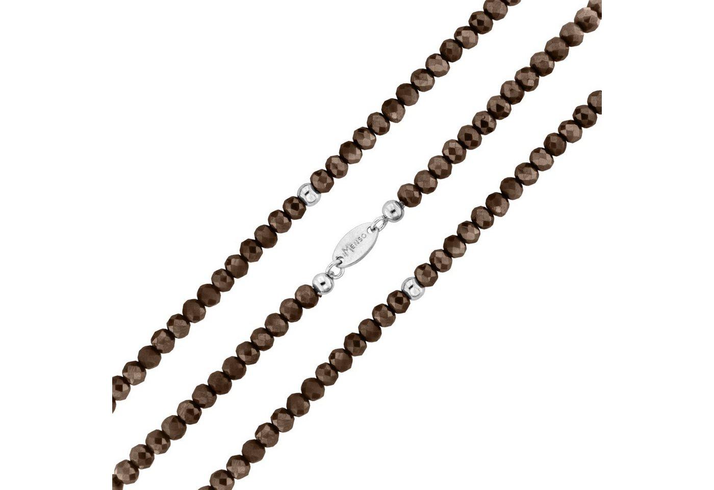 MY iMenso Wickelarmband mit facettierten Kristallen   Schmuck > Armbänder > Wickelarmbänder   Braun   MY iMenso