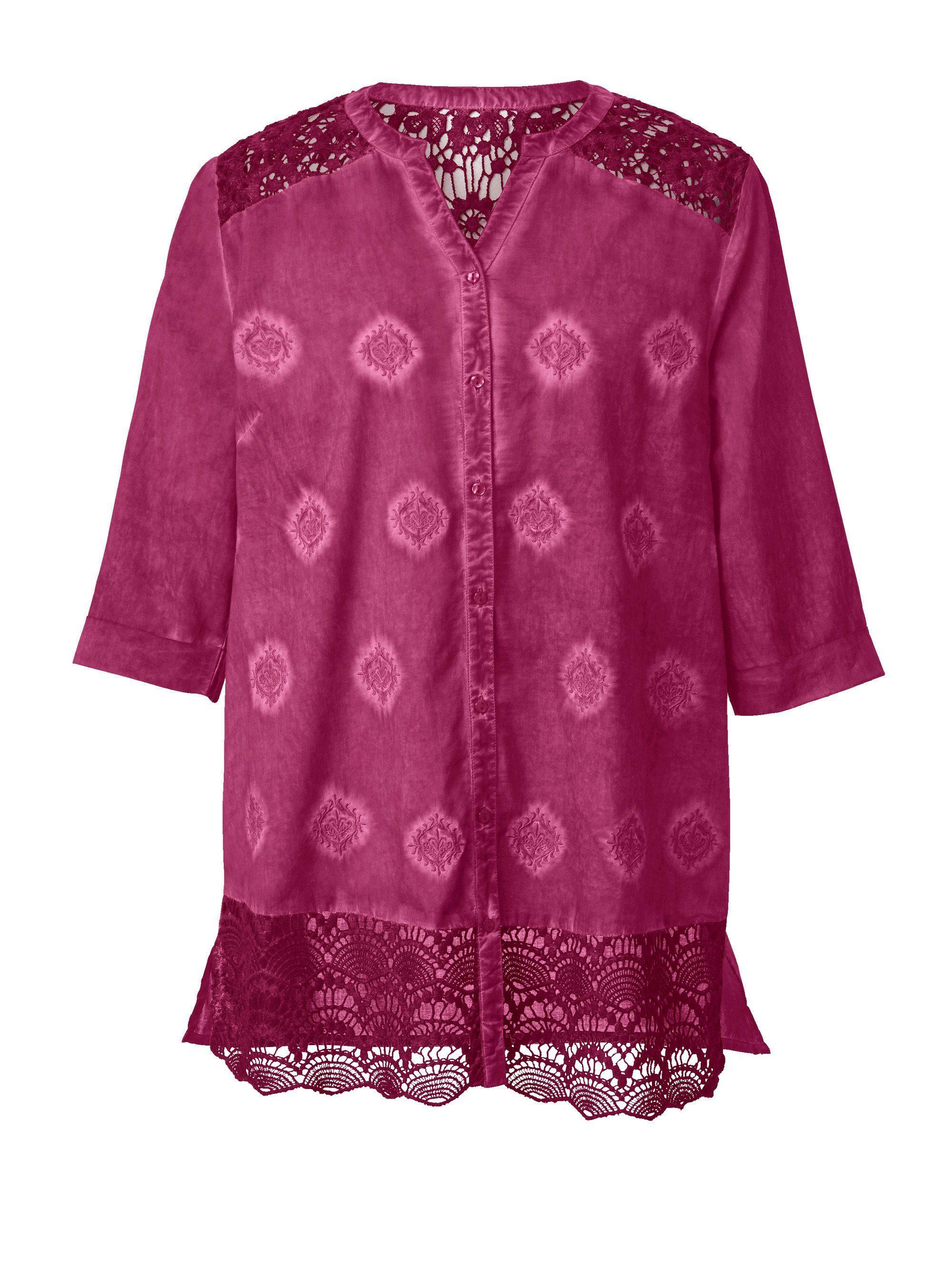 2019 Neuer Stil Bluse Zero In Creme Mit Weste In Rose Gr.34 Hohe Belastbarkeit Blusen, Tops & Shirts
