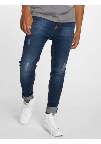 Herren Just Rhyse Straight-Jeans Luke blau | 04059753340211