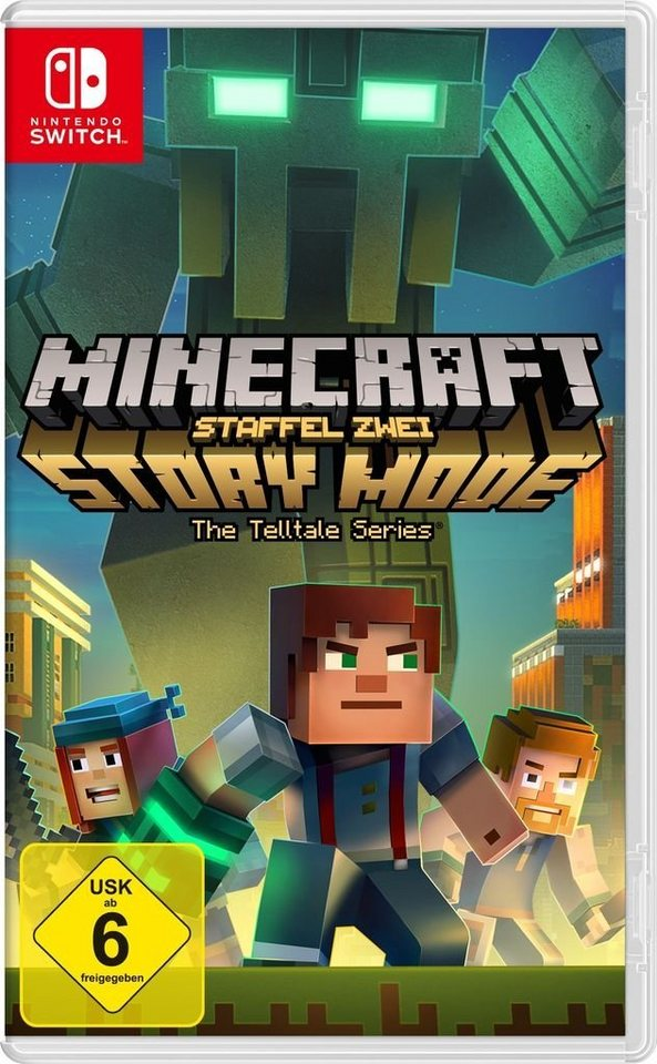 Telltale Games Nintendo Switch Spiel Minecraft Story Mode - Minecraft spiele switch