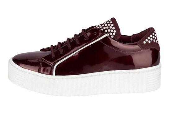 weiß Heine Sneaker Heine Heine weiß Sneaker Bordeaux Bordeaux Sneaker Heine Bordeaux weiß uTlK35c1JF