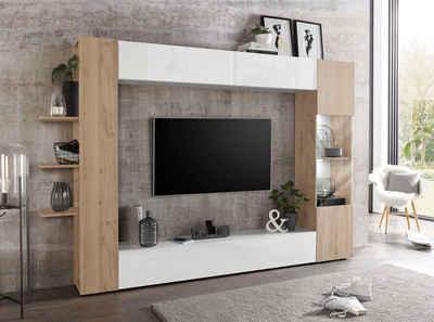 AuBergewohnlich Wohnwand In Braun Online Kaufen | OTTO