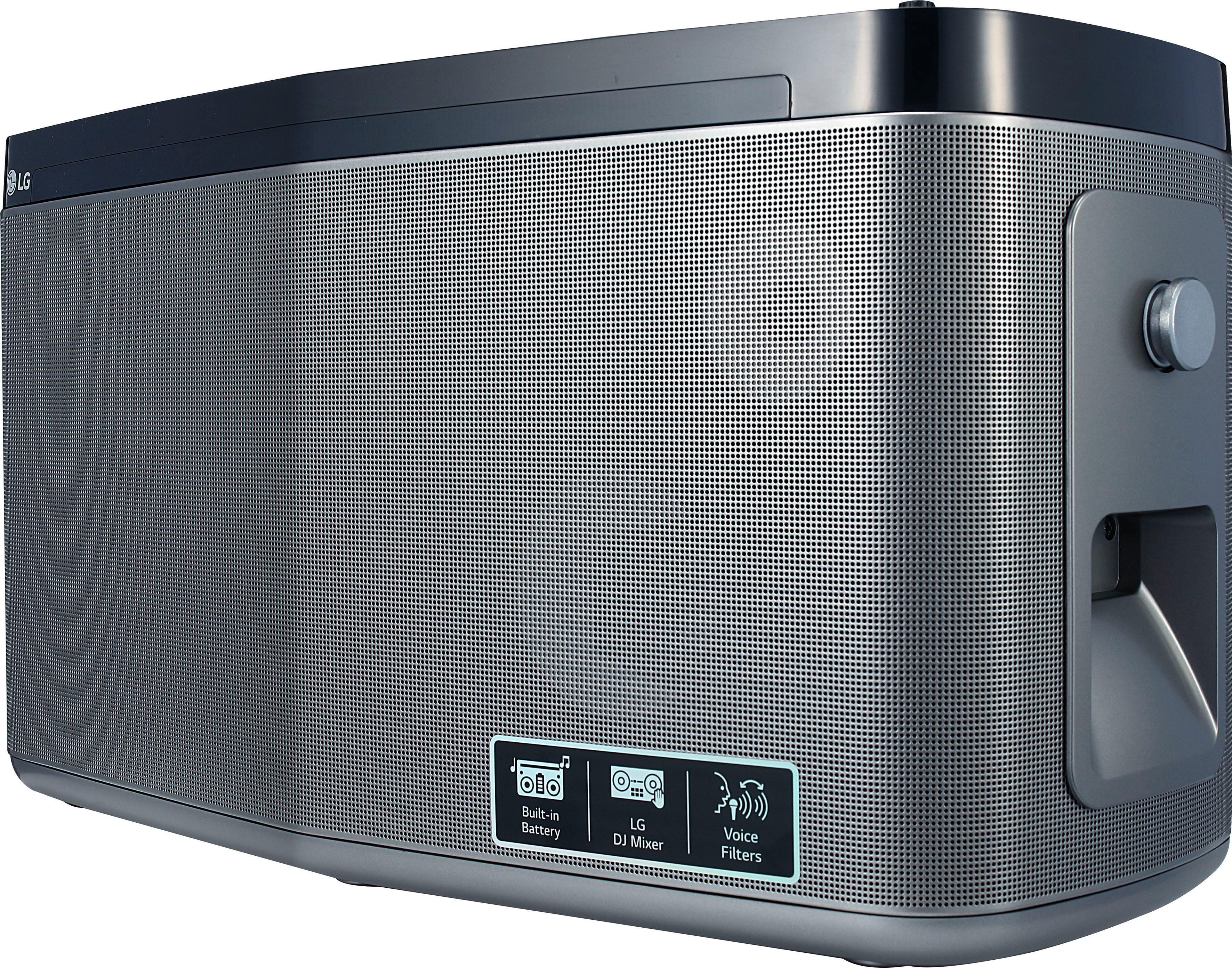 LG »RK8« Stereoanlage (Bluetooth, FM-Tuner, 100 W)