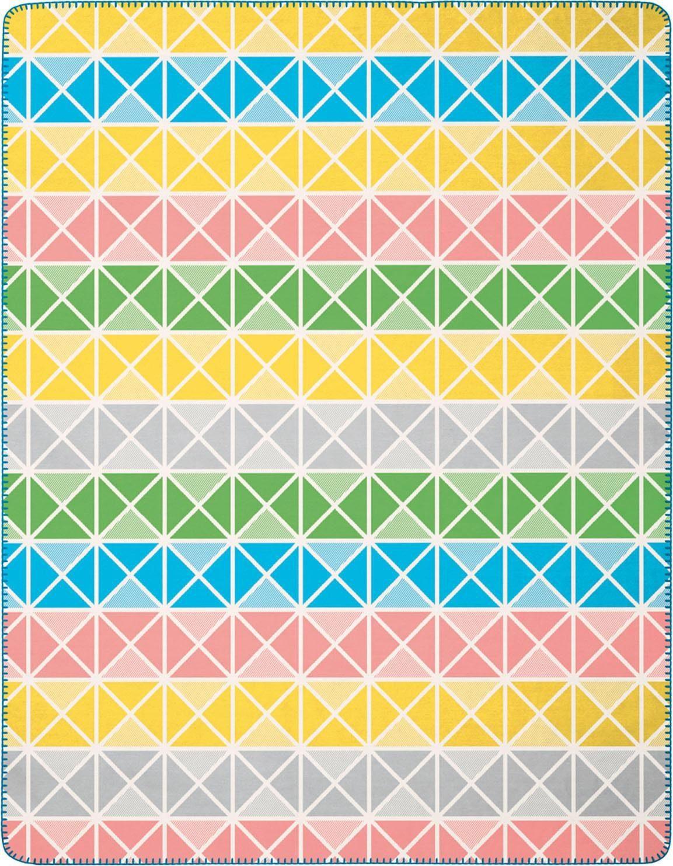 Wohndecke »Up and Down«, BIEDERLACK, mit grafischem Muster in bunten Farben