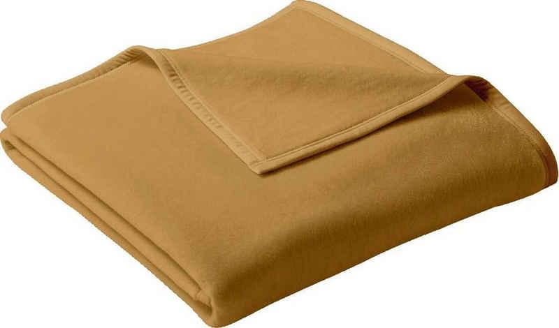 Wohndecke »Uno Cotton«, BIEDERLACK, in schönen Unifarben