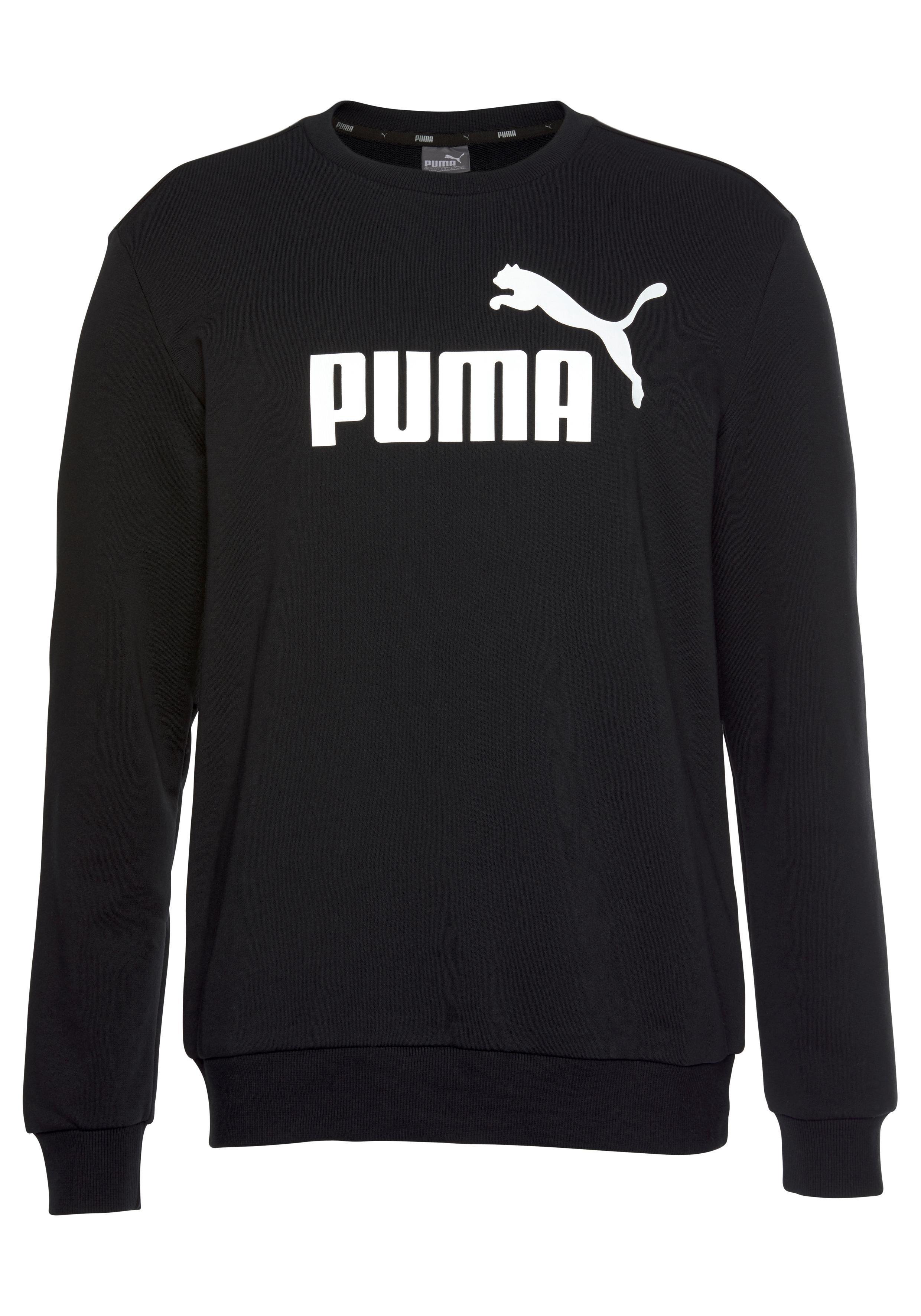 PUMA Sweatshirt »ESS LOGO CREW SWEAT TR BIG LOGO« | Bekleidung > Shirts > Sonstige Shirts | PUMA