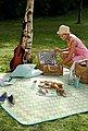 Picknickdecke »Elske«, BIEDERLACK, mit fröhlichem Muster, Bild 2