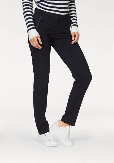 Aniston SELECTED Stretch-Hose mit 2 Reißverschlusstaschen