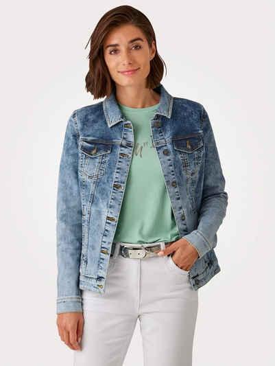 Mona Jeansjacke mit modischer Waschung