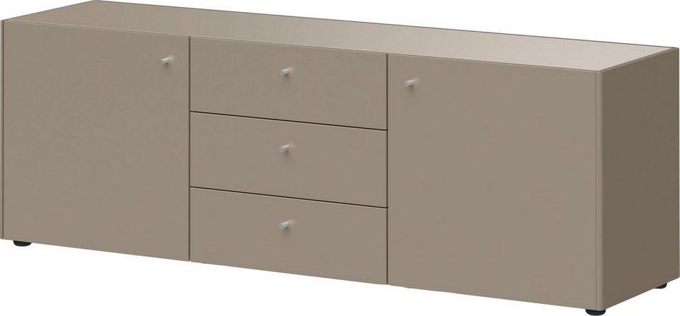 sch ner wohnen sideboard monteo breite 160 cm otto. Black Bedroom Furniture Sets. Home Design Ideas