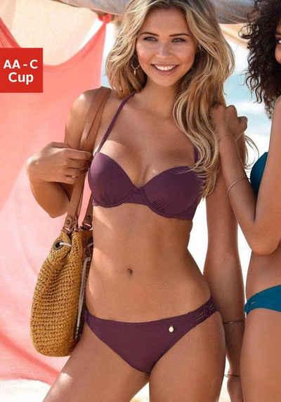 d981219efa42d LASCANA Push-Up-Bikini mit Makramee-Details