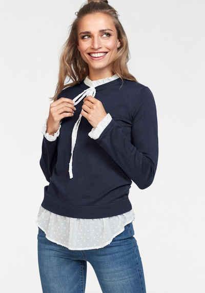 ef0ae9573b8dba 2-in-1 Pullover für Damen » Pullover mit Bluseneinsatz kaufen | OTTO