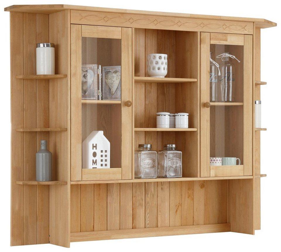 home affaire buffetaufsatz indra aus massiver kiefer. Black Bedroom Furniture Sets. Home Design Ideas