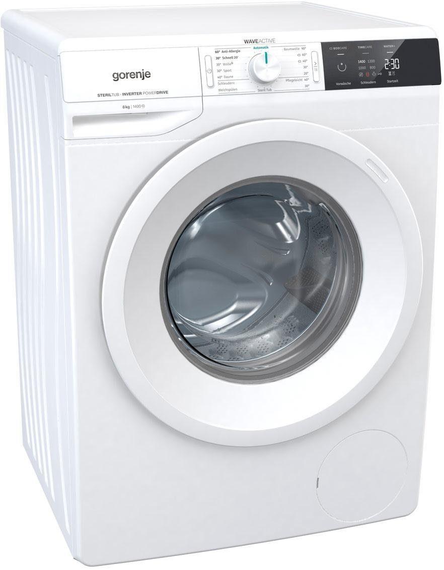 GORENJE Waschmaschine WEI 843 P, 8 kg, 1400 U/Min