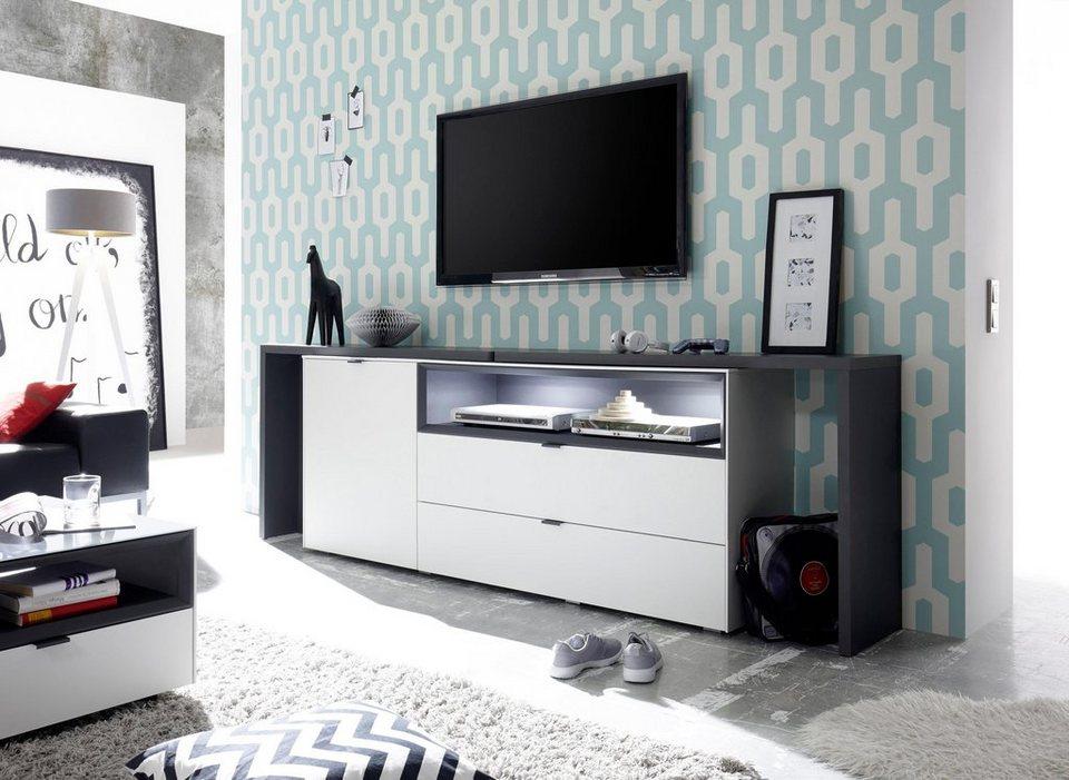 m usbacher sideboard micelli mit tischfunktion breite 177 240 cm online kaufen otto. Black Bedroom Furniture Sets. Home Design Ideas