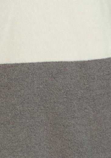 Im Stehkragenpullover Colorblocking Baur By Aniston tB8qUxwE