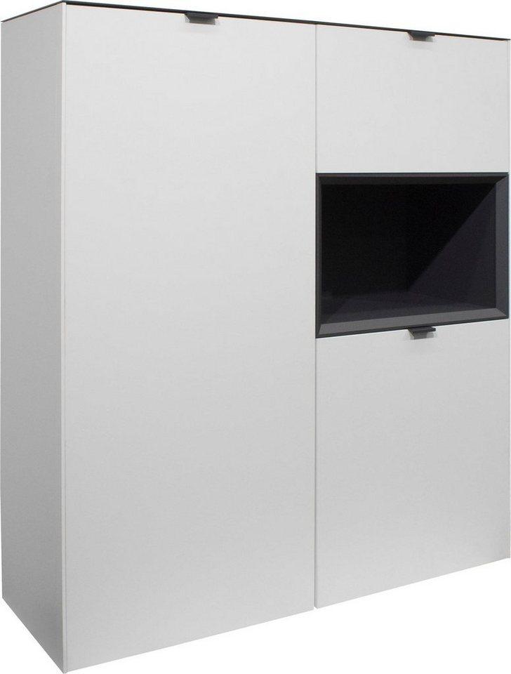 m usbacher stauraumvitrine micelli h he 140 cm otto. Black Bedroom Furniture Sets. Home Design Ideas