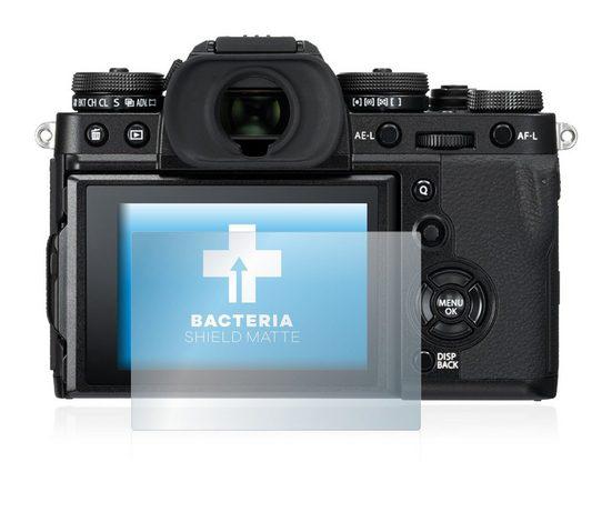 upscreen Schutzfolie »für FujiFilm X-T3«, Folie Schutzfolie matt entspiegelt antibakteriell