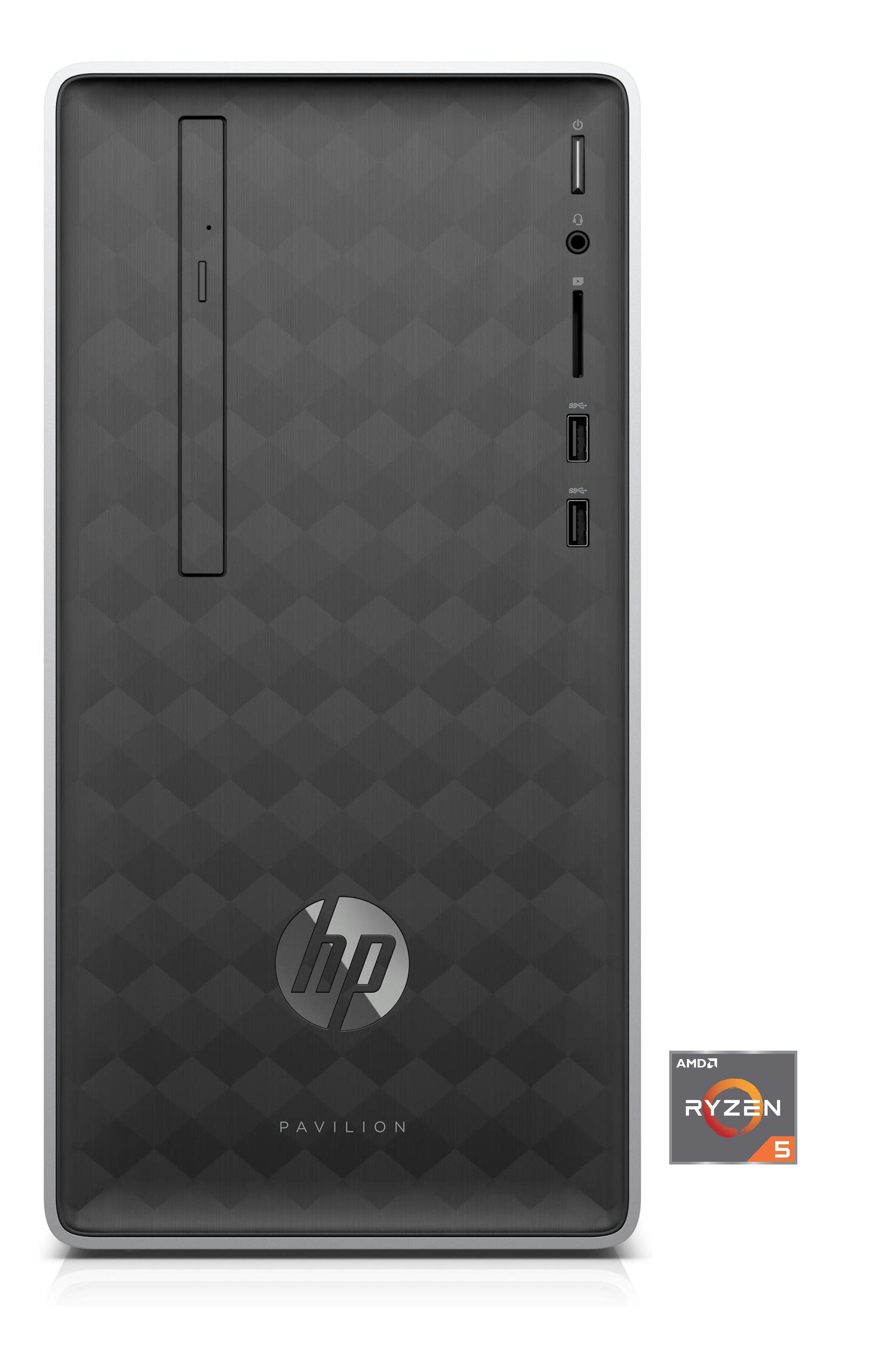 HP Pavilion 590-p0566ng Desktop PC »AMD Ryzen 5, AMD Radeon Vega 11, 256 GB+1 TB, 8 GB«