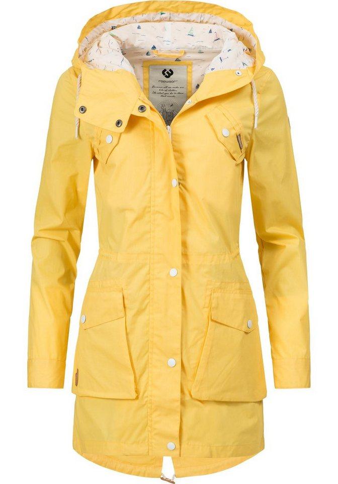 Ragwear mantel gelb
